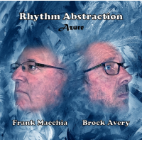 10 copies of Rhythm Abstraction: Azure by Frank Macchia