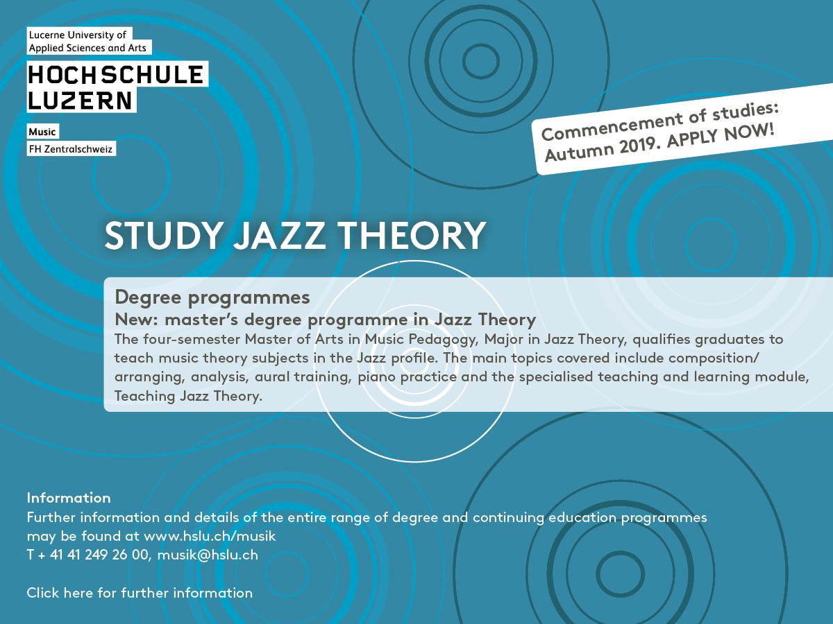 Jazz Theory Lucerne