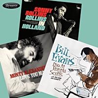 Resonance Records Bill Evans, Sonny Rollins and Monty Alexander Giveaway
