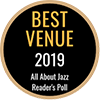 Adorn Your Venue with the 2019 All About Jazz Readers Poll Top Venue decal